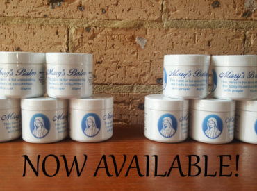 Mary's Balm: a simple guide